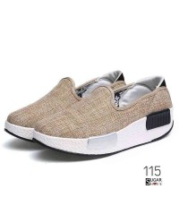 รองเท้าลำลองเพื่อสุขภาพแบบยอดฮิตทำจากผ้าแคนวาสทอ