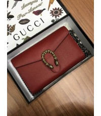 GG M Dionysus clutch Leather Mini Chain Bag