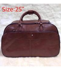 Mont Blanc suitcase luggage rolling travel bag 25 นิ้ว