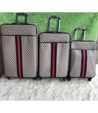 Gucci super suitcase luggage travel bag  20 24 27 นิ้ว