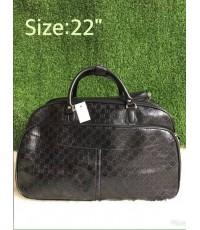 กระเป๋าเดินทาง Gucci Keepall ล้อลาก ทรงหมอน  22 นิ้ว
