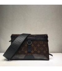 LOUIS VUITTON MESSENGER MONOGRAM TITANIUM BAG