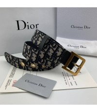 เข็มขัด Dior New Arrivals Diorquake Dior Oblique Belt