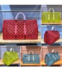 กระเป๋าเดินทางใส Louis Vuitton Keepall 20 นิ้ว