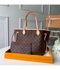 Louis Vuitton Neverfull ด้านในแดง