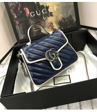 Gucci  Marmont Leather  Bag
