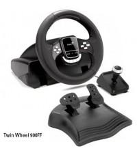 Genius Twin Wheel 900 FF ชุดพวงมาลัยเล่นเกมส์