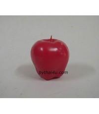 เทียนหอมรูปแอปเปิล