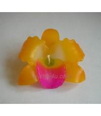 เทียนหอมรูปดอกกล้วยไม้