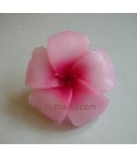 เทียนหอมรูปดอกชบา