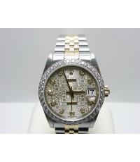 นาฬิกาrolex 68273 คอมบรอนเพชรใหญ่ ขอบเพชร3ตัง