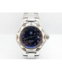 นาฬิกาTag heuer lady size รุ่นคิเรี่ยม หน้าน้ำเงิน สภาพ 90
