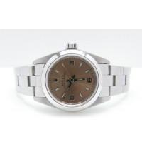 นาฬิกาRolex เบบี้ไซส์ หน้าแชมเปญ สายเต้าหู้ ซีรี่ 7 สภาพ 90