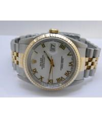 นาฬิกาKING SIZE โรเล็กหน้าโรมัน มีใบการันตีศูนย์ สภาพ 90