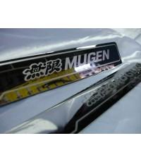 กาบบันไดสเตนเลสรุ่นพับขอบ Honda JAZZ Mugen