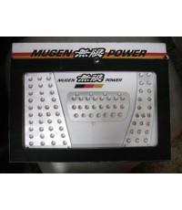 กันลื่น Mugen_III Honda Civic_2006 FD เกียร์Aออโต้_ขาว (พร้อมที่พักเท้า)