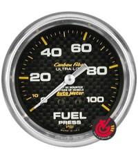 เกจ์Fuel-Press AUTO-METER 2.5_นิ้ว Carbon AM4812