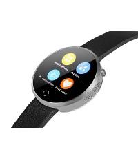 iMacwear i6 นาฬิกาข้อมือบูลธูลกันน้ำ(สีเงิน)เมนูไทย