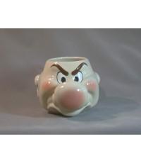 แก้วดิสนีย์ แบบหัว ลายกรัมพี้(grumpy head)