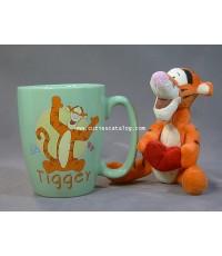 แก้วทิคเกอร์ พร้อมตุ๊กตา(Tigger mug with doll)