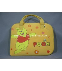 กระเป๋าโน๊ตบุ๊คหมีพูห์/ซอฟท์เคสหมีพูห์ Pooh softcase notebook