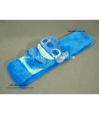 ผ้าพันคอลายสติช Stitch scarf แบบ 2