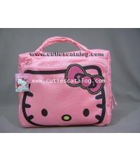 กระเป๋าโน๊ตบุ๊คคิตตี้ แบบสะพายข้าง Kitty notebook case สีชมพู ขนาด 14 นิ้ว