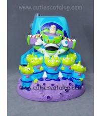 กระปุกออมสินบัซซ์ ไลท์เยียร์-เอเลี่ยน3ตา Buzz Lightyear - Little green man piggybank