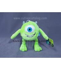 ตุ๊กตาไมค์ วาโซว์สกี้ จากเรื่อง มอนสเตอร์ อิงค์ Mike Wazaski @ Monster Inc แบบ 3 ขนาด S
