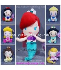 ตุ๊กตาเจ้าหญิง Disney Princess แบบชุด 7 ตัว ขนาด S
