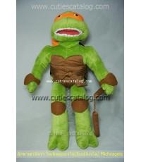 ตุ๊กตาเต่านินจา ไมเคิลแองเจโล/มีเกลันเจโล Micheagelo Teenage Mutant Ninja Turtles ขบวนการเต่านินจา แ