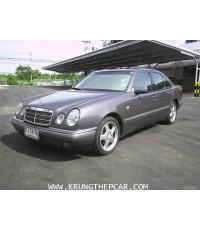 .ขาย BENZ E230 ELEGANCE ปี 1999 สีเทาดำ เกียร์ออโต้ 5 สปีด 4AIRBAG ABS เบาะหนังแท้ปรับไฟฟ้า เม็มโมรี