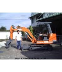 .ขายรถขุด (แบ๊คโฮล) KUBOTA KH60 รถนำเข้าจากญี่ปุ่น ใช้งานได้ทันที $A13-S6PE-