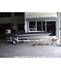 .ขายเรือBASS BOAT STARTOS ขายเรือตกปลา ขนาด 17 ฟุต เครื่อง JOHNSON VRO120 มีโซน่าร์2ตัว$A13P6SI-