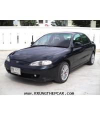 .ขาย รถยนต์ HYUNDAI ELANTRA1.8GLS เกียร์ออโต้ สีเขียว กระจกไฟฟ้า ล้อแม็ก15นิ้ว แทรคยาง $A01-P6PA.