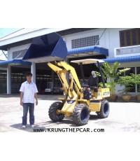 .ขายรถตักเอวอ่อน รถตักล้อยาง KOMATSU WA20  ขับเคลื่อน4ล้อ  มือสองญี่ปุ่น ราคา $A13-N6AU-P6SP
