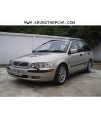 .ขายรถยนต์ VOLVO V40 T4 2.0TURBO 5ประตู ปี2001 สีบรอนซ์ทอง ออโต้ AIRBAG เบาะหนังแท้ปรับไฟฟ้า$A01.