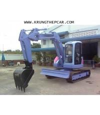 .ขายรถขุดแขนสไลด์ KOMATSU PC75UU ตีนเหล็ก  $A13-N6UA