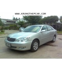 .ขายรถยนต์มือสอง TOYOTA CAMRY 2.4G สีบรอนซ์เงิน เกียร์ออโต้  A01