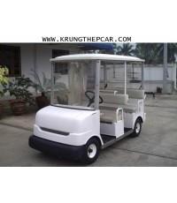 P5UN .ขาย รถกอล์ฟไฟฟ้า ขนาด5ที่นั่ง เก่าญี่ปุ่น มีที่ชาร์จในตัวรถ เสียบปลั๊กไฟบ้านได้เลย ราคา A13-