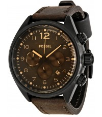 นาฬิกาข้อมือ Fossil CH2782 Men Brown Aluminium Stella Chrono Watch