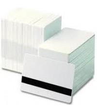 บัตรแม่เหล็ก บัตรพลาสติก บัตรพนักงาน บัตรคีย์การ์ด การ์ดพลาสติกขาว การ์ดแม่เหล็กรูด