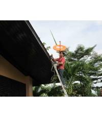 ช่าง ผึ้ง ติดตั้ง จาน IPM 60 cm+IPM Clear บ้านหนองช้างคืน ริมปิง ลำพูน เชียงใหม่