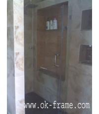 กระจกห้องน้ำ(อบเทมเปอร์)