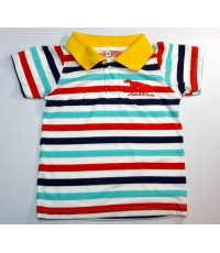 เสื้อโปโลเด็กปักลาย 4-5ปี