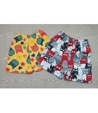 กางเกงขาสั้นไซส์ L /10ตัว ราคา 210 บาท ราคาส่งเกิน3แพค/มัด คละแบบอื่นได้