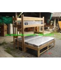 เตียงนอนไม้สัก 2 ชั้น