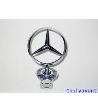 ดาวฝากระโปรงหน้ารถเบนซ์ ดาวเบนซ์ โลโก้เบนซ์ Mercedes - Benz W210 E230 E240 New Eye