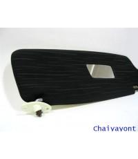 ที่บังแดดซ้ายรุ่นยาวสีขาว-ดำ รถบีเอ็มดับบลิว Classic Auto Vintage BMW 1600 1602 1800 2000 2002tii