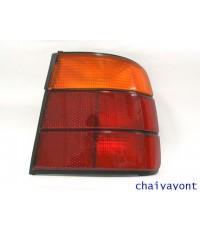 ไฟท้ายด้านขวาสีแดง-ส้ม ดวงนอก รถบีเอ็มดับบลิว BMW E34 518i 520i 525i 530i M43 M50 Series 5